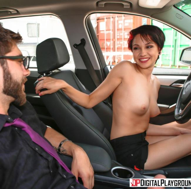DigitalPlayground - Cadey Mercury - Taking A Ride  (720p / HD)