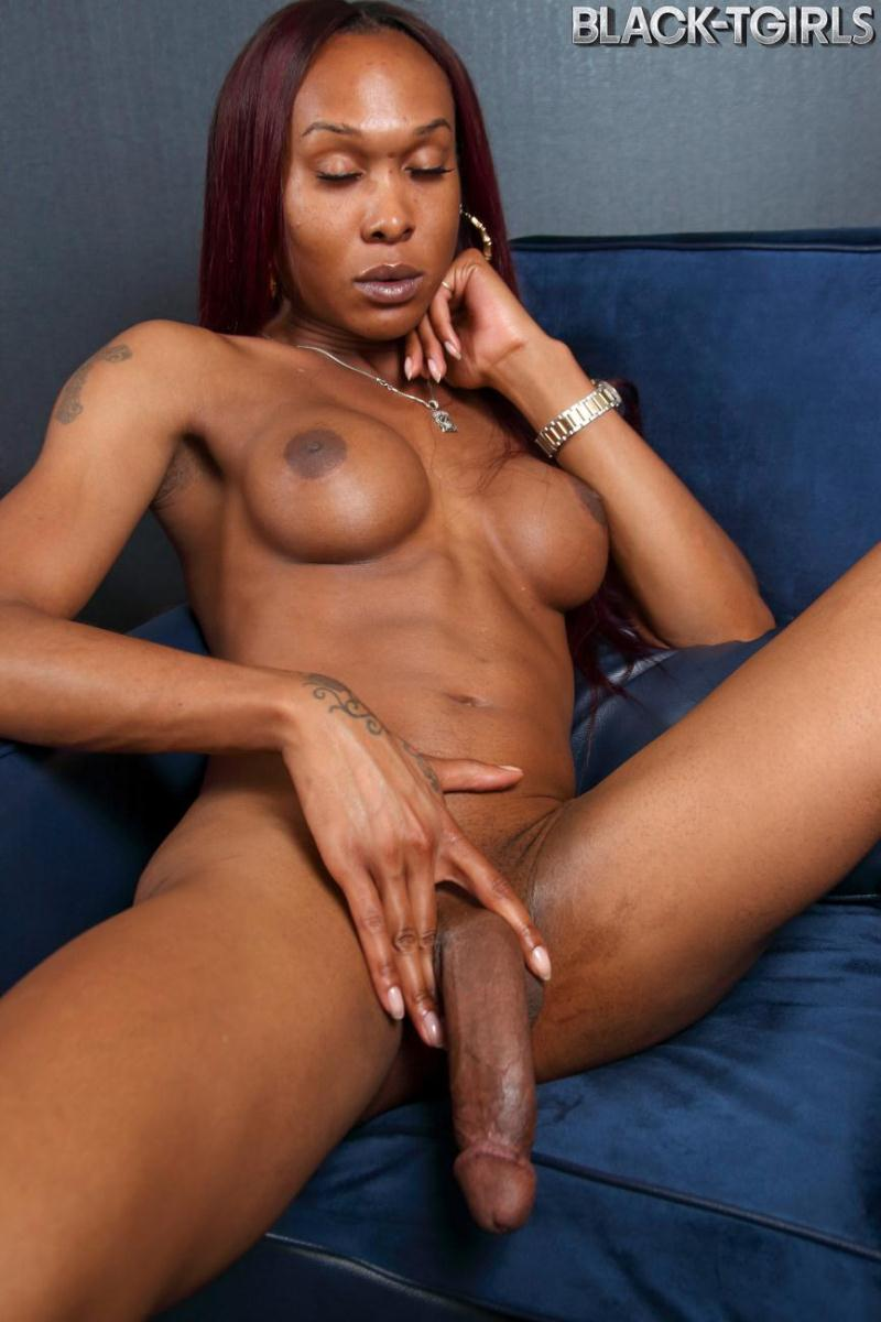 Kayla Biggs ~ Kayla Biggs Strips And Strokes! ~ Black-TGirls ~ HD 720p