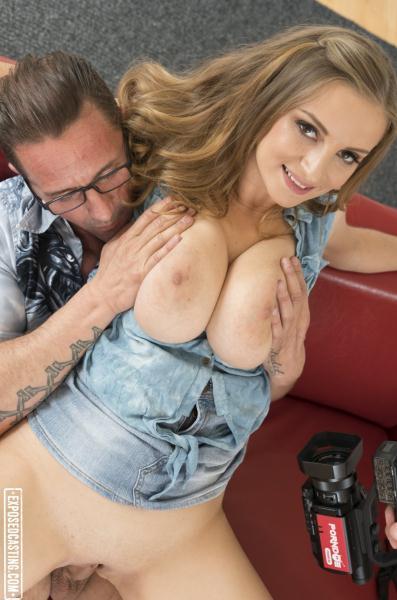 Suzie Sun - Lusty Czech babe Suzie Sun gets cum on her big tits in steamy casting fuck  [SD 480p]