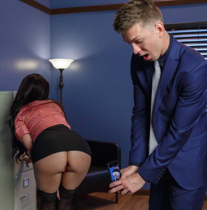 BigTitsAtWork/Brazzers -  Raven Bay - Under My Coworkers Skirt  [HD 720p]
