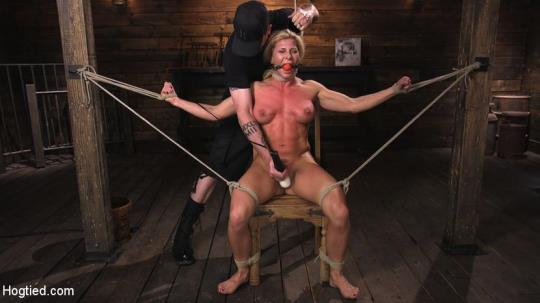 HogTied, Kink: Ariel X is Tormented in Brutal Bondage and Double Penetrated (HD/720p/1.45 GB) 13.07.2017