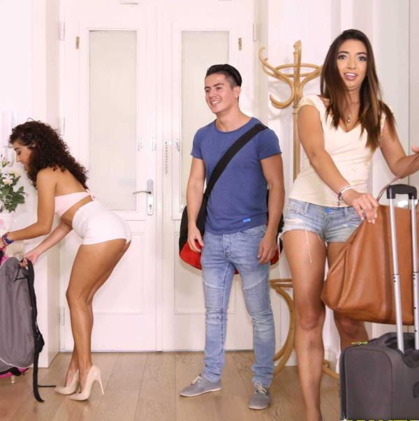 Frida Sante, Melody Petite - Threesome Fiesta (MikesApartment/RealityKings)  [HD 720p]