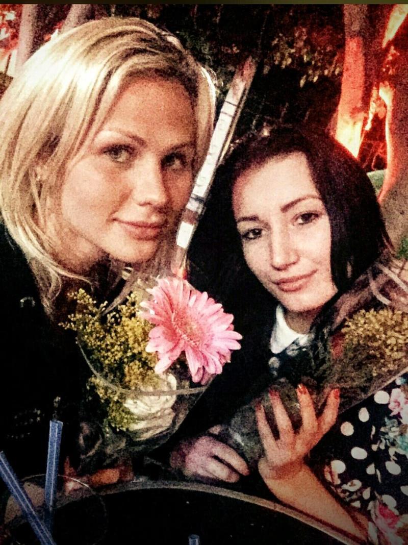 LegalPorno: Anal threesome with gapes ATM - Katie Montana, Scarlet Blaze [2016] (SD 480p)
