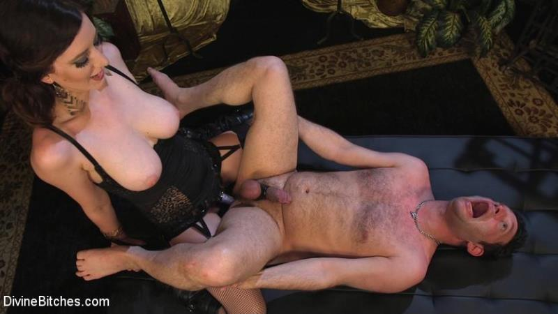 DivineBitches.com / Kink.com: Lusty Cherry Torn Teases, Torments and Fucks Poor Kid Dynamite [SD] (684 MB)