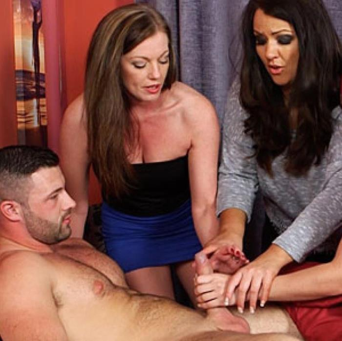PureCFNM - Holly Kiss, Jesse Jayne, Roxi Keogh - Prank Apology  (1080p / FullHD)