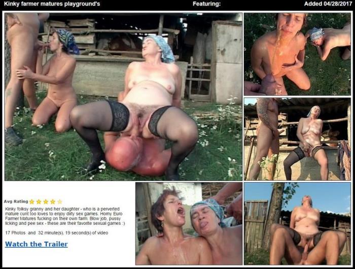 Kinky farmer matures playground\'s (TuttiFrutti) SD 576p