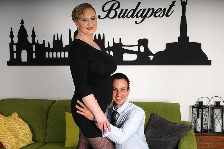 Silana (41) (Chubby mature lady doing her toyboy / 23.06.17) [Mature.nl / SD]