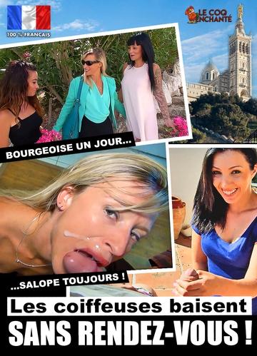 Michel Selection Elite: Samantha, Pamela, Christelle, Fino - Les Coiffeuses Baisent Sans Rendez-Vous ! [WEBRip/HD 720p]