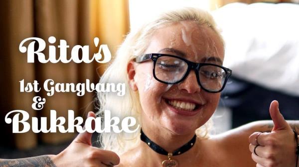 Rita - Rita's 1st Gangbang & Bukkake [TexxxasBukkake / TexasBukkake.com / ManyVids.com] [HD] [1.32 GB]