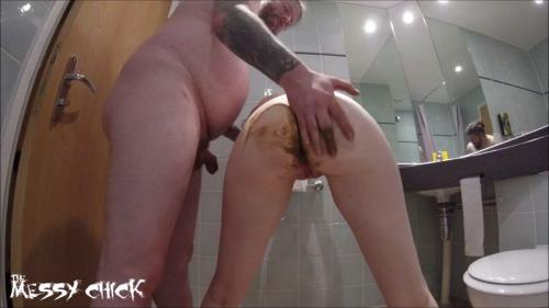 Trashing The Hotel Bathroom - Extreme Hardcore [FullHD] - Scat