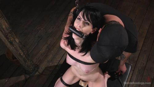 Alex Harper - Fresh Meat - Alex Harper Gets Her 1st Taste of Domination and Bondage [HD, 720p] [DeviceBondage.com / Kink.com]