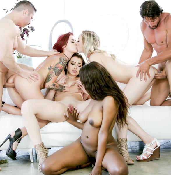 Tana Lea, Jennifer Jacobs, Zoe Parker, Daya Knight, John Strong, Tommy Gunn - Fuck - Orgy Edition, Scene 2 (DevilsFilm)  [FullHD 1080pp]
