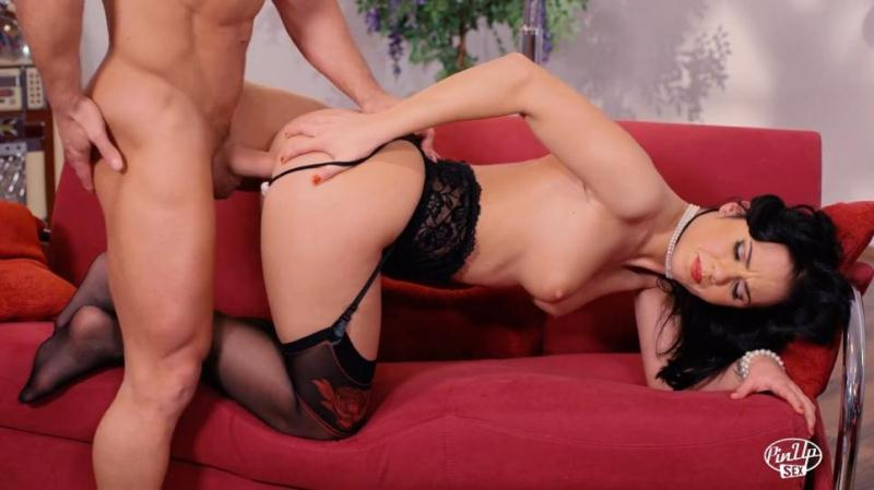 Denise Sky ~ Hot Hungarian pinup babe Denise Sky gets her ass cum covered in hot fuck ~ PinupSex ~ FullHD 1080p