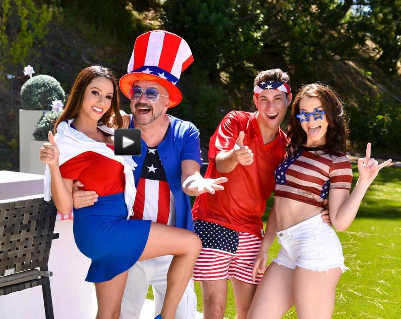FamilyStrokes - Ariella Ferrara, Jennifer Jacobs - Family Fourth Of July [SD 540p]