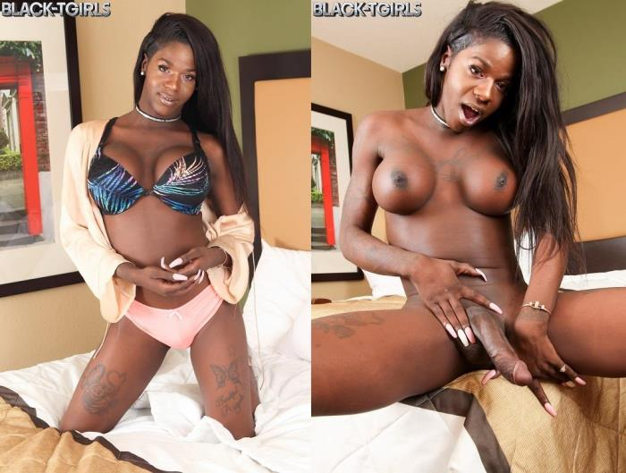 Cassandra Grande Toys Her Tight Ass! (Black-TGirls) HD 720p
