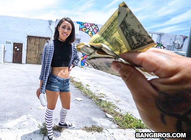 Aria Skye - Enjoying The Game [BangBros, BangBus / SD]