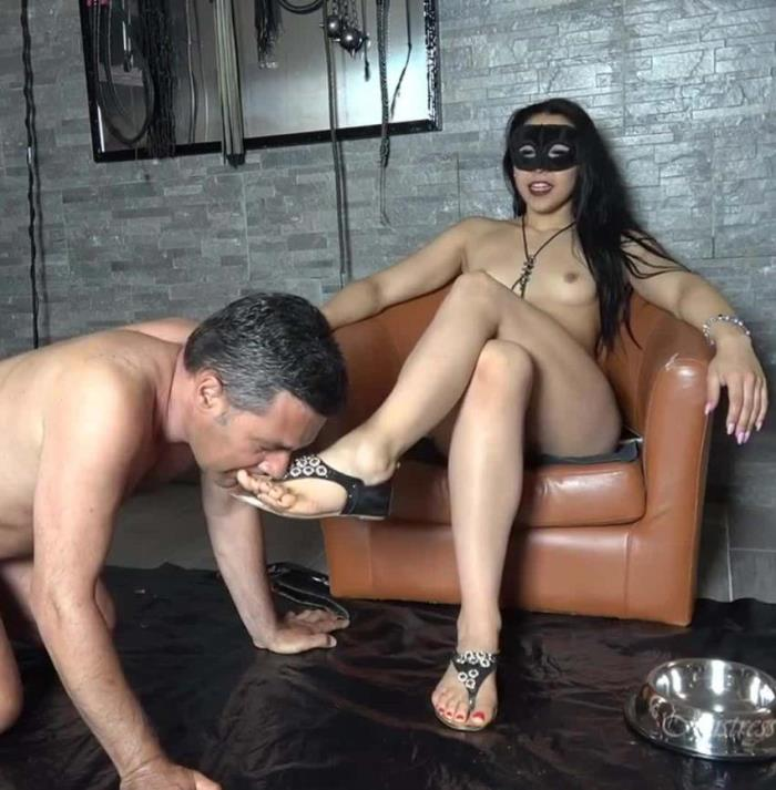 Mistress Gaia - Shit Licker Slave  (MistressGaia/FullHD/1080p/1.37 Gb) from Rapidgator
