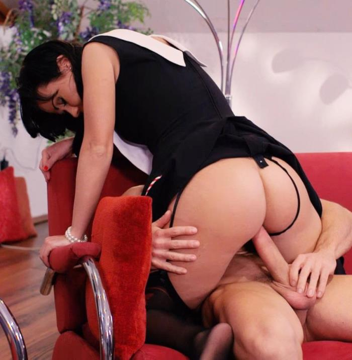 Denise Sky ~  Hot Hungarian pinup babe Denise Sky gets her ass cum covered in hot fuck  ~ PornDoePremium ~   HD 720p