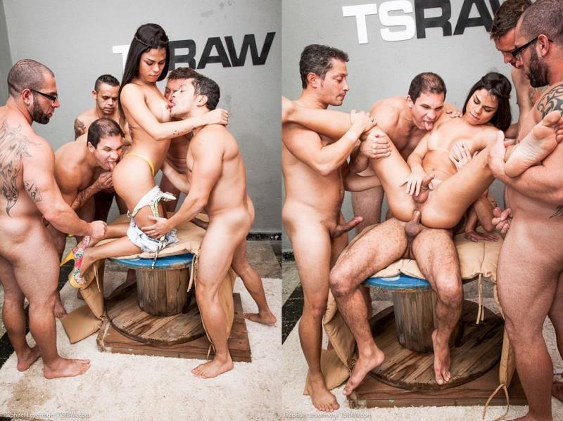 TSRaw.com: Raphael Levermont Gangbang [HD] (1.09 GB)