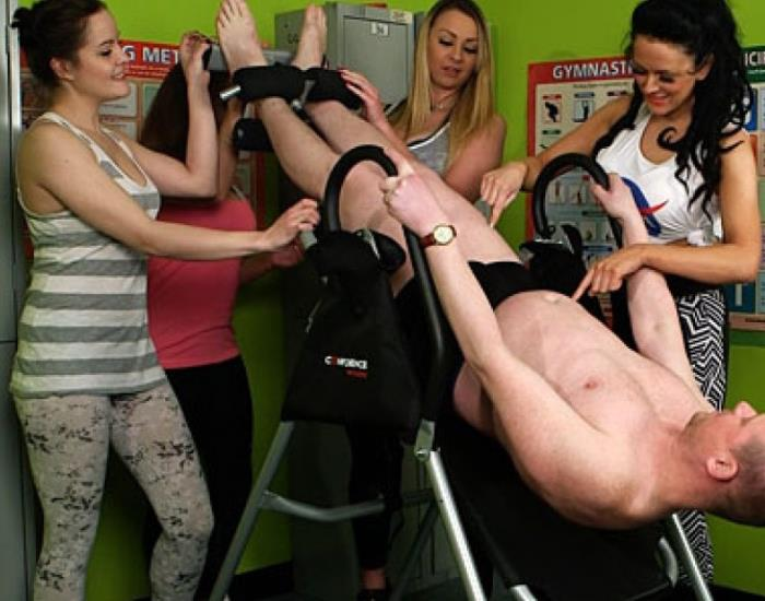 PureCFNM - Dolly Diore, Jess Scotland, Lexi Ryder, Ruby Ryder - Inversion Table  (1080p / FullHD)