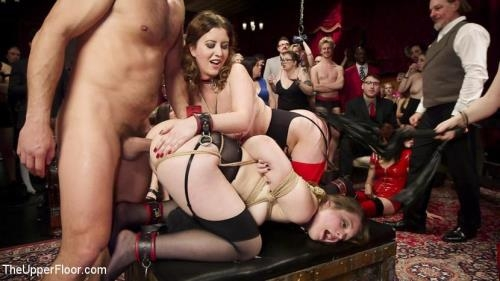 Aiden Starr, Cherry Torn, Nora Riley - Armory Upper Floor Finale Part 2: Nora's Debasement (04.07.2017/TheUpperFloor.com / Kink.com/HD/720p)