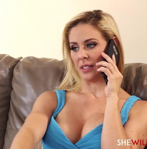Cherie DeVille - Slutwife Fucks Husbands Employee (SheWillCheat)  [FullHD 1080p]
