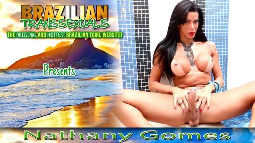Brazilian-transsexuals.com [Beautiful Natany Gomes Cums] FullHD, 1080p