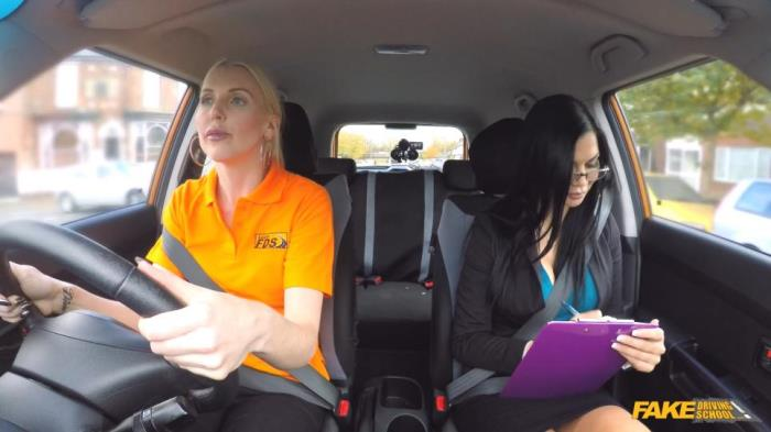 Jasmine Jae, Lexi Lou - Learner Has Intense Lesson to Pass [FakeDrivingSchool] 1080p