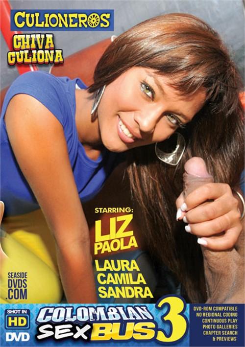 Culioneros - Camila, Laura, Sandra, Liz Paola [Colombian Sex Bus 3] (WEBRip/SD 480p)