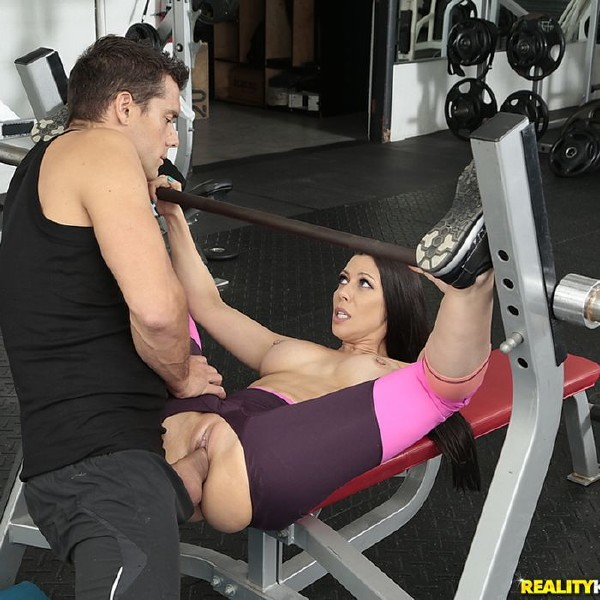 Rachel Starr- Gym And Pussy Juice  [HD 720p] SneakySex/RealityKings