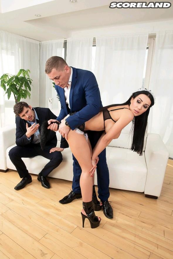 PornMegaLoad: Patty Michova - Maid For Double Penetration (FullHD/2017)