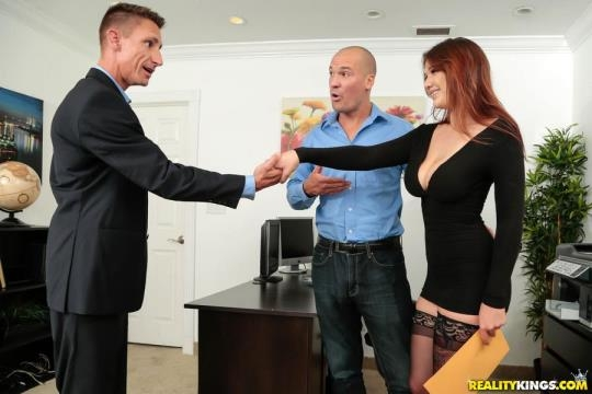 BigNaturals, RealityKings: April Dawn - My Busty Secretary (SD/432p/243 MB) 03.07.2017