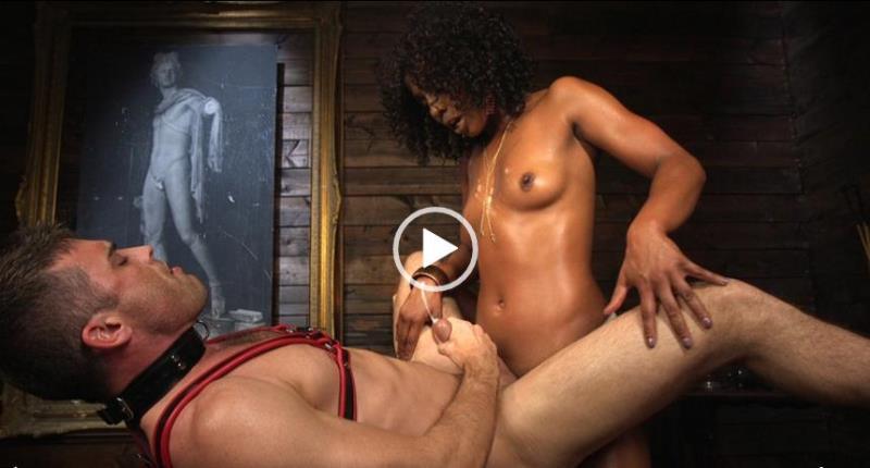 (Humiliation / MP4) Ebony Goddess Misty Stone Doms and Fucks Lance Hart DivineBitches.com / Kink.com - SD 540p