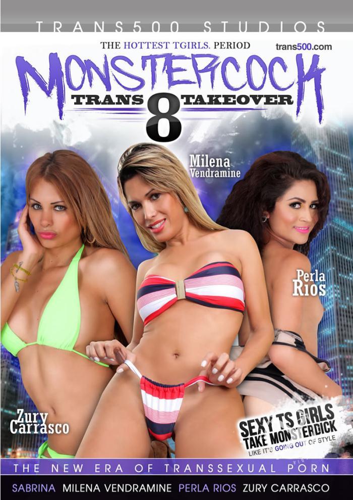 Trans 500 Studios - Ramon, Sabrina, Milena Vendramine, Zury Carrasco, Perla Rios in Monster Cock Trans Takeover 8 (WEBRip/HD 720p)