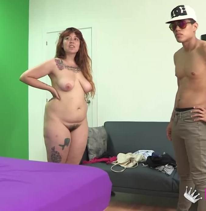 Fakings - Amaya - Perdona senorita TETONA y de generosas curvas, quiere aparecer en el videoclip de nuestra estrella?. Ricky is back!  [HD  720p]
