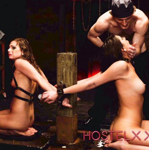 Sydney Cole, Olivia Lua - Jacked and Bound (HostelXXX)  [HD 720pp]