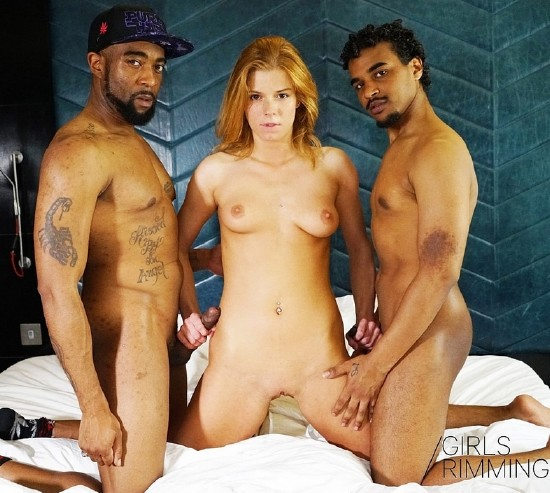 GirlsRimming - Antonio, Chrissy Fox, Dru - Pimped-Out. Ep4 - Ass Juice [SD 480p]