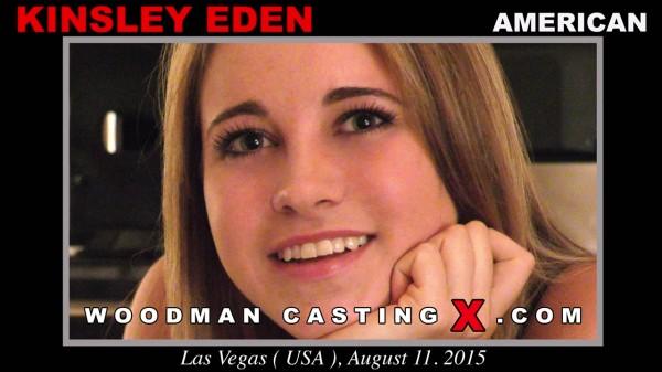 Kinsley Eden - Casting X 148 [WoodmanCastingX / SD]