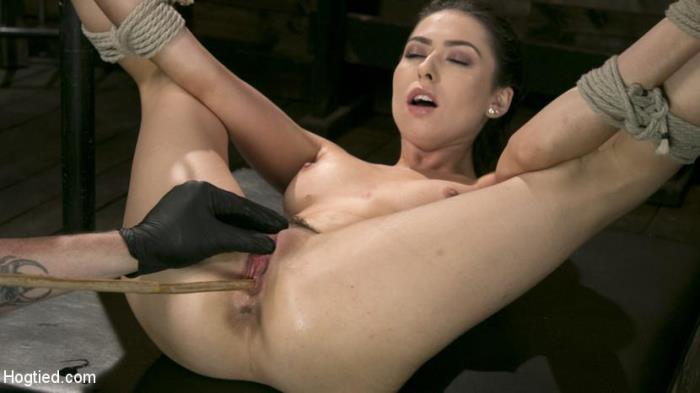 HogTied.com / Kink.com - Melissa Moore - All Natural Bondage Slut Endures Torment and Suffering with Squirting Orgasms! [HD, 720p]
