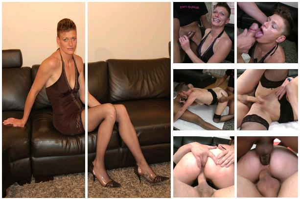 (French-bukkake.com) Clara Titi - Gangbang (HD/768p/627 MB/2017) PREMIUM VIDEO