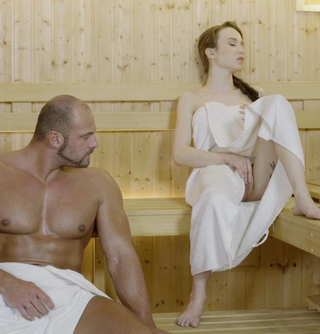 Angel Rush- Beautiful Russian babe Angel Rush rides cock and gets facial at the sauna [Relaxxxed/PornDoePremium] [HD|mp4|440.41 Mb|720pp|2017]