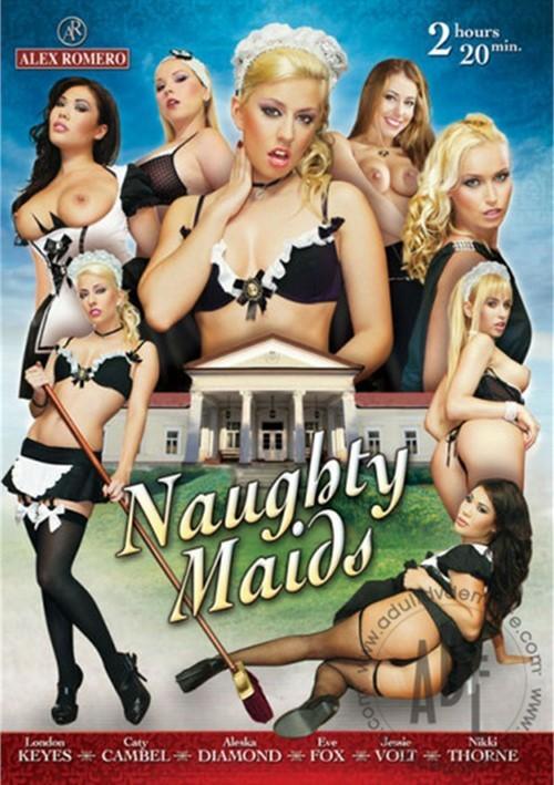 Alex Romero - London Keyes, Jessie Volt, Aleska Diamond, Caty Cambel, Nikky Thorne, Eve Fox in Naughty Maids (WEBRip/SD 540p)
