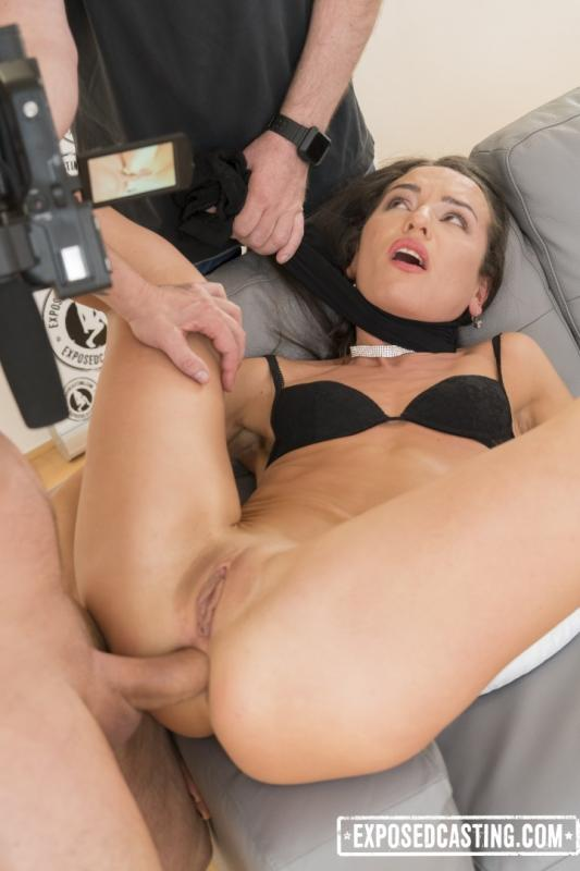 ExposedCasting - Nataly Gold - Sexy Russian babe Nataly Gold gets ass fucked at casting and eats jizz [SD 480p]