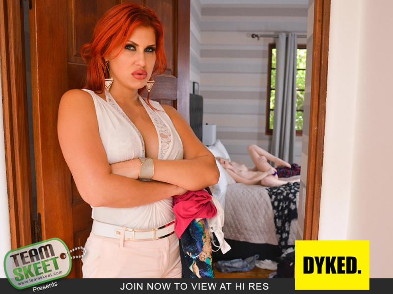 Dyked/TeamSkeet: vy Jones, Savana Styles - Sexy Scoundrel Gets Straightened Out [SD 360p] (429 MB)