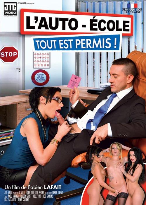JTC Video - Amel Annoga, Kelly Pix, Rico Simmons, Max Casanova, Tony Caliano in LAuto Ecole : Tout Est Permis (WEBRip/SD 540p)