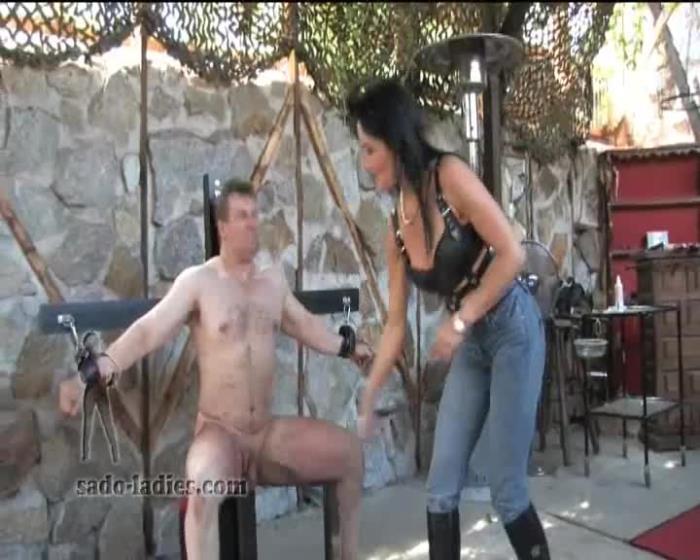 Lady Pascal - Breaking The Bodybuilder [SadoLadies] SD 576p