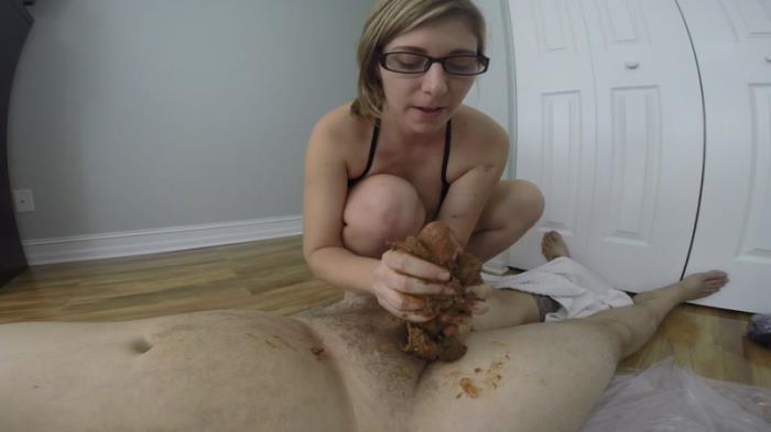 GIGANTIC POOP on his COCK - Blowjob Scat (Scat Porn) FullHD 1080p