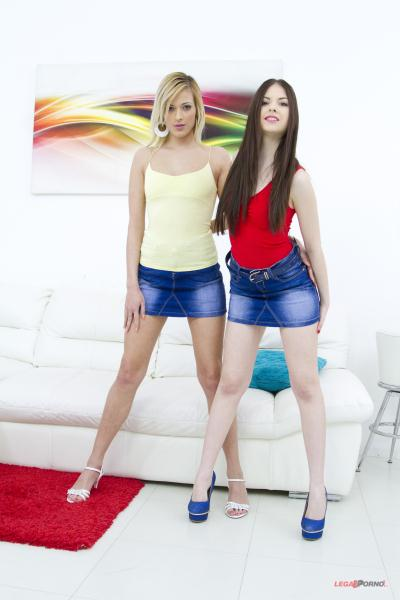 LegalPorno - Rebecca Volpetti, Ria Sunn [Rebecca Volpetti and Ria Sunn anal and DP 4some for Gonzo studio SZ1302] (SD 480p)