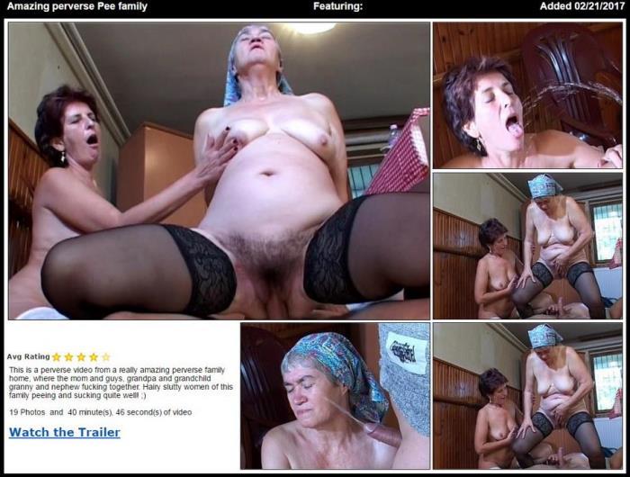 Amazing perverse Pee family (TuttiFrutti) SD 576p