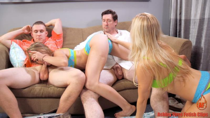 Ashley Fires, Anya Olsen - Family Picnic - Part 3 (Clips4Sale) FullHD 1080p
